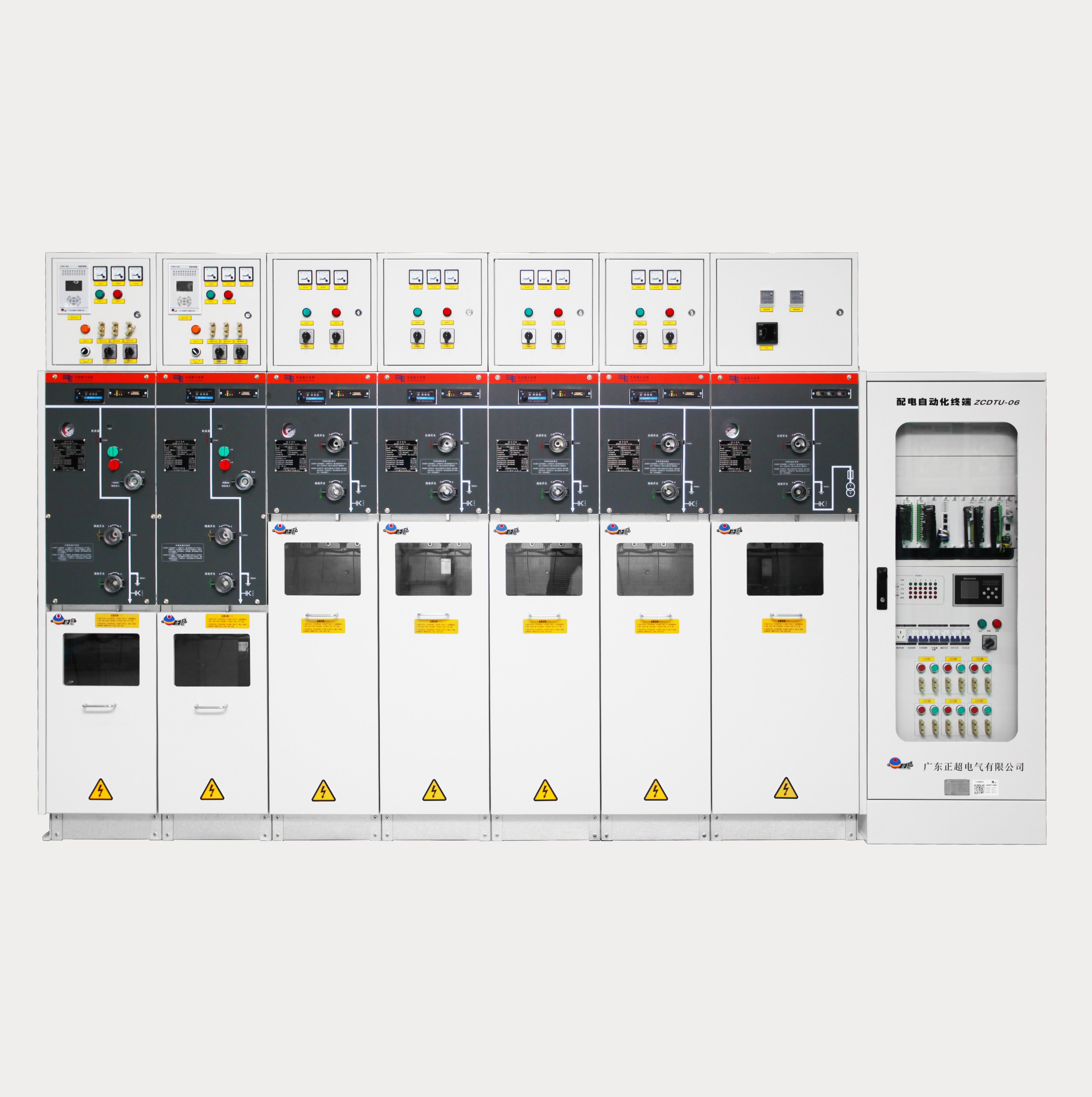 ZCSF-12 户内高压交流六氟化硫智能环网开关设备(10kV SF6环网柜)