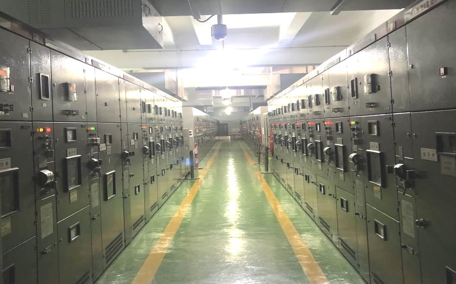 广东广州110kV燕塘变电站