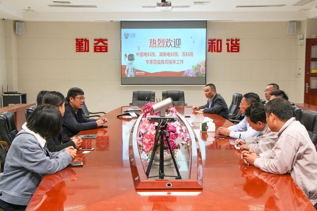 中国电科院、湖南电科院、苏科院专家莅临我司现场检查设计样机