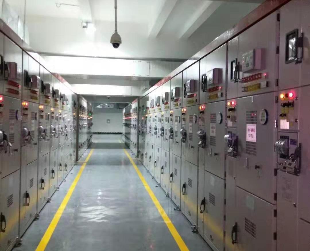 广东河源市区中心变电站工程